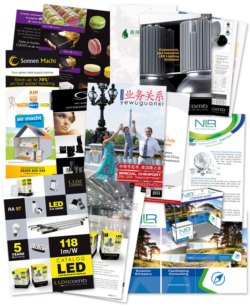 Flyer,packaging,autocollant,dépliant,catalogue travaux d'imprimerie - EYDO Production